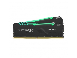 DDR4-16GB 3200MHz CL16 KIT (2x 8GB)  HyperX Fury RGB 1,35V Črn LPX (HX432C16FB3AK2/16)