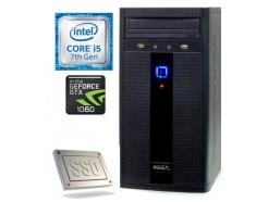 Računalnik  MEGA 2000 i5-7400/8GB/SSD256GB/1TB/GTX1060-3GB