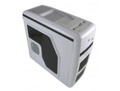 Ohišje  LC Power Gaming 975W ATX Air Wing Middletower 2x120mm ventilator moder, 1x USB3.0, docking, bel