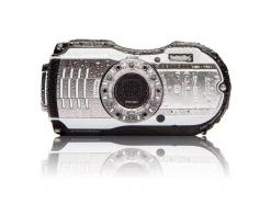 DIG. Fotoaparat Ricoh WG4 Srebrn - vodo tesen ter odporen na udarce
