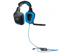 Slušalke Logitech gamer G430 USB 7.1 prostorski zvok