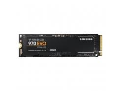 Disk SSD  M.2 80mm PCIe  500GB Samsung 970 EVO NVMe 3400/2500MB/s (MZ-V7E500BW)