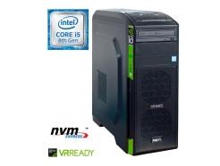 Računalnik  MEGA 6000 i5-8600/8GB/SSD250GB-NVMe/1TB/GTX1060-6GB