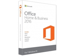 Microsoft Office 2016 Home&Business FPP 32/64bit SLO (T5D-02813)