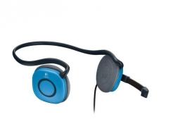 Slušalke Logitech H130 stereo modre z mikrofonom
