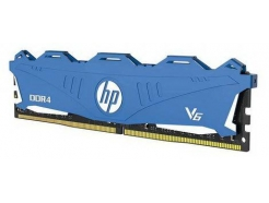 DDR4 8GB 3000MHz CL16 Single (1x 8GB) HP V6 Blue s hladilnikom 1,35V (7EH64AA)
