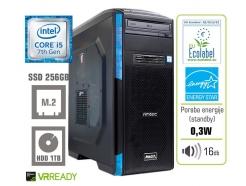 Računalnik  MEGA 6000 Gaming Plus i5-7400/8GB/SSD256GB/1TB/GTX1050Ti-4GB