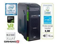 Računalnik  MEGA 6000 X-GTX10 i7-7700/16GB/SSD256GB/2TB/GTX1060-6GB-Gaming-X