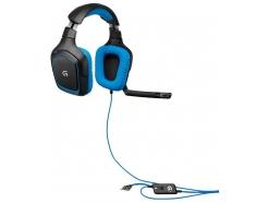 Slušalke gaming Logitech G430 USB 7.1 prostorski zvok