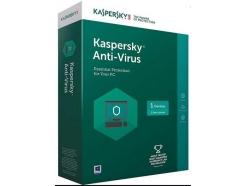 Antivirus  Kaspersky  1-letna licenca za 1PC BOX