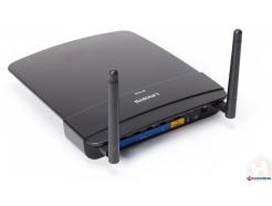 WLAN  Router LINKSYS E1700 300Mbit, DualBand, 4xGbit LAN, MIMO