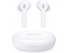 Slušalke Bluetooth TaoTronics SoundLiberty 53 TWS TT-BH053 - true wireless, IPX7, BT 5.0 bele (E30L)