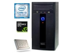 Računalnik  MEGA 2000 i3-7100/4GB/SSD240GB/GTX750Ti-2GB
