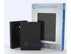 Prenosni SSD 500GB HP Portable P600 560/440MB/s P600 USB3.0 TYP A + USB TYP C Adapt (3XJ07AA#ABB)