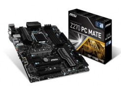 MB 1151 MSI Z270 PC Mate ATX 2xM.2 USB-C VGA DVI-D HDMI CrossFire