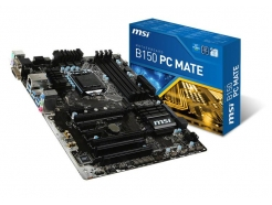 MB 1151 MSI B150 PC Mate DDR4, USB 3.1, M.2, VGA DVI HDMI (RMA)