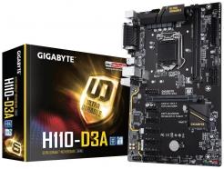 MB 1151 GIGABYTE H110-D3A ATX 6x PCI-e VGA