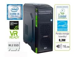 Računalnik  MEGA 6000 GTX10 i5-7400/8GB/SSD240GB/GTX1050-2GB