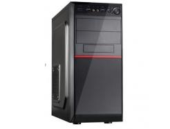 Ohišje PowerCase PC10 ATX 1xUSB3.0, 2xUSB2.0 audio črn brez napajalnika