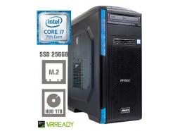 Računalnik  MEGA 6000 i7-7700/8GB/SSD256GB/1TB/GTX1050Ti-4GB